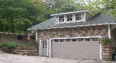 Synthetic Stone Garage Veneer